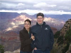 Scott and Glennis Brodie in Arizona