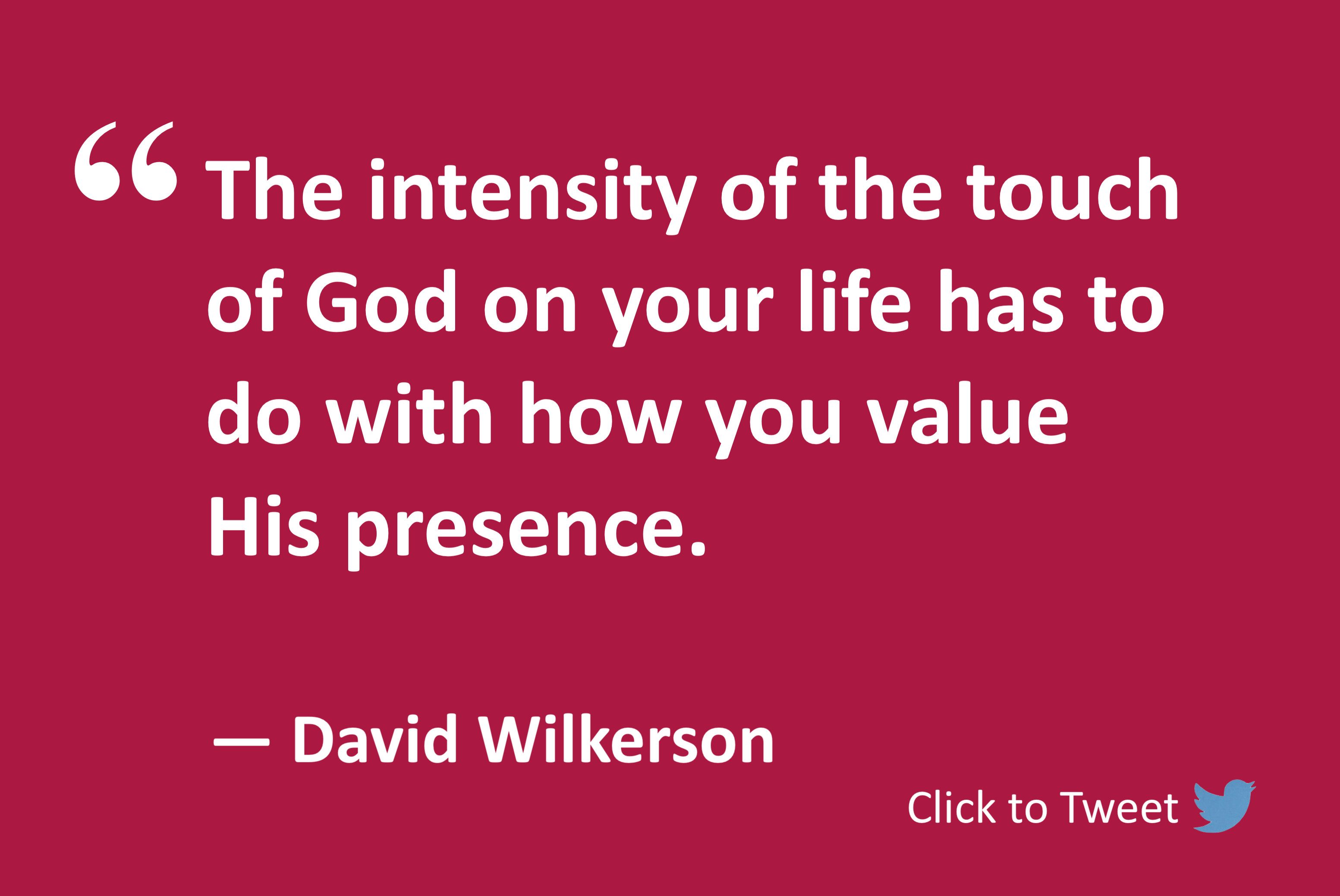 Touch of God - Moses by David Wilkerson
