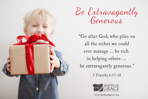 When You Give: Three Characteristics of an Extravagant Giver