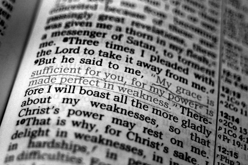 God's Power in Weakness (5): Scriptures About Weakness and ...
