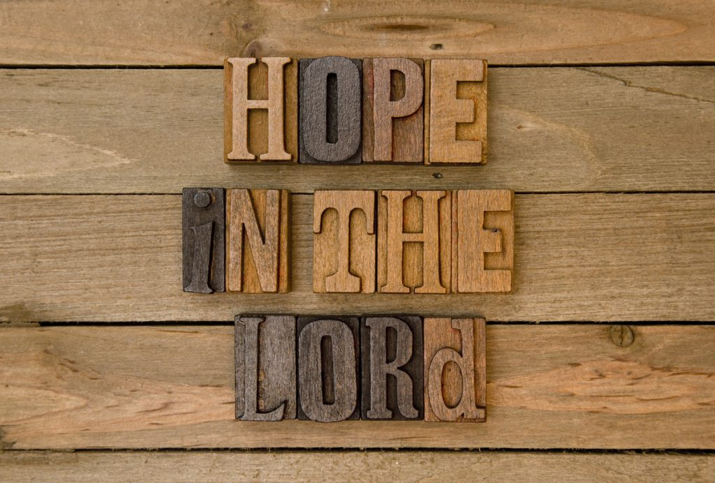 Declaring our Helplessness and Hope in God