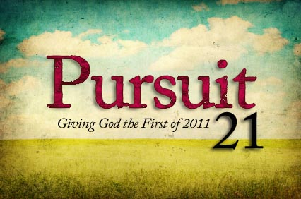 Pursuit 21: Setting the Course for 2011