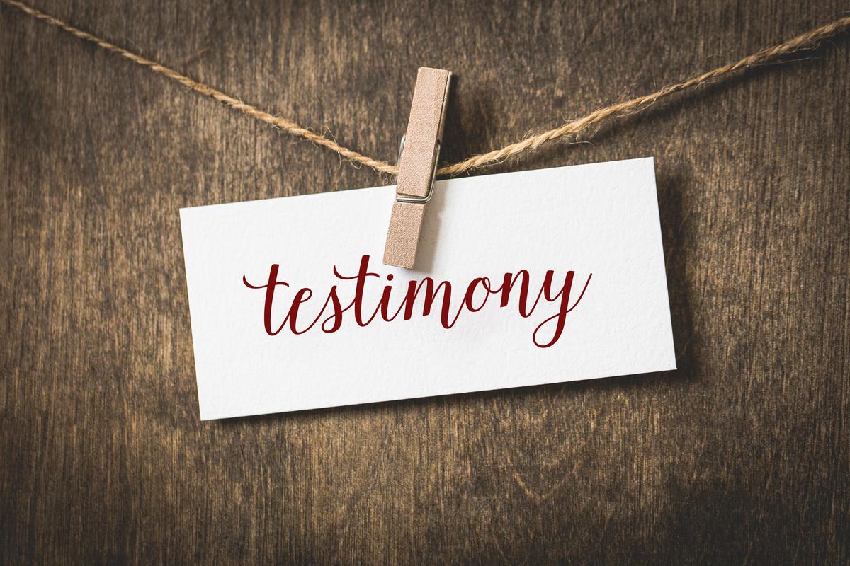 your-testimony