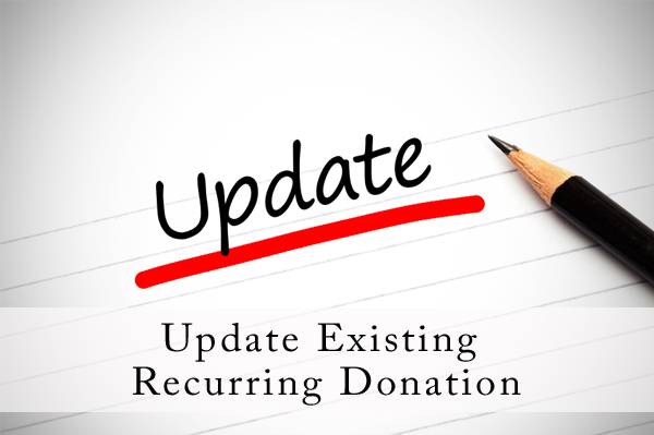 Update-Existing-Recurring-Donation
