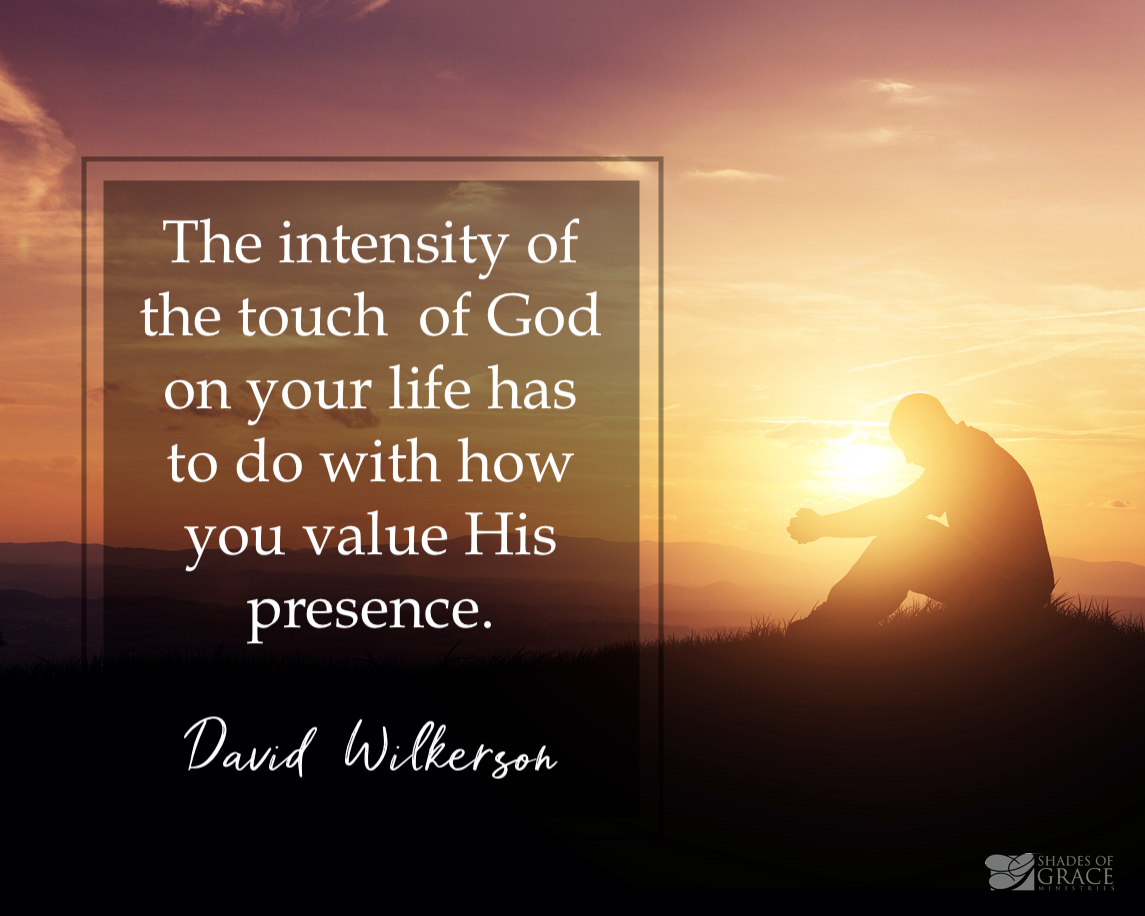 The Touch of God - Moses: Sermon by David Wilkerson – Shades of