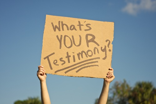 What's Your Testimony