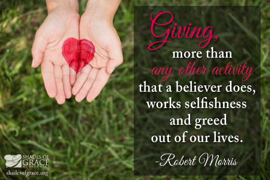 When You Give: It's All About the Heart